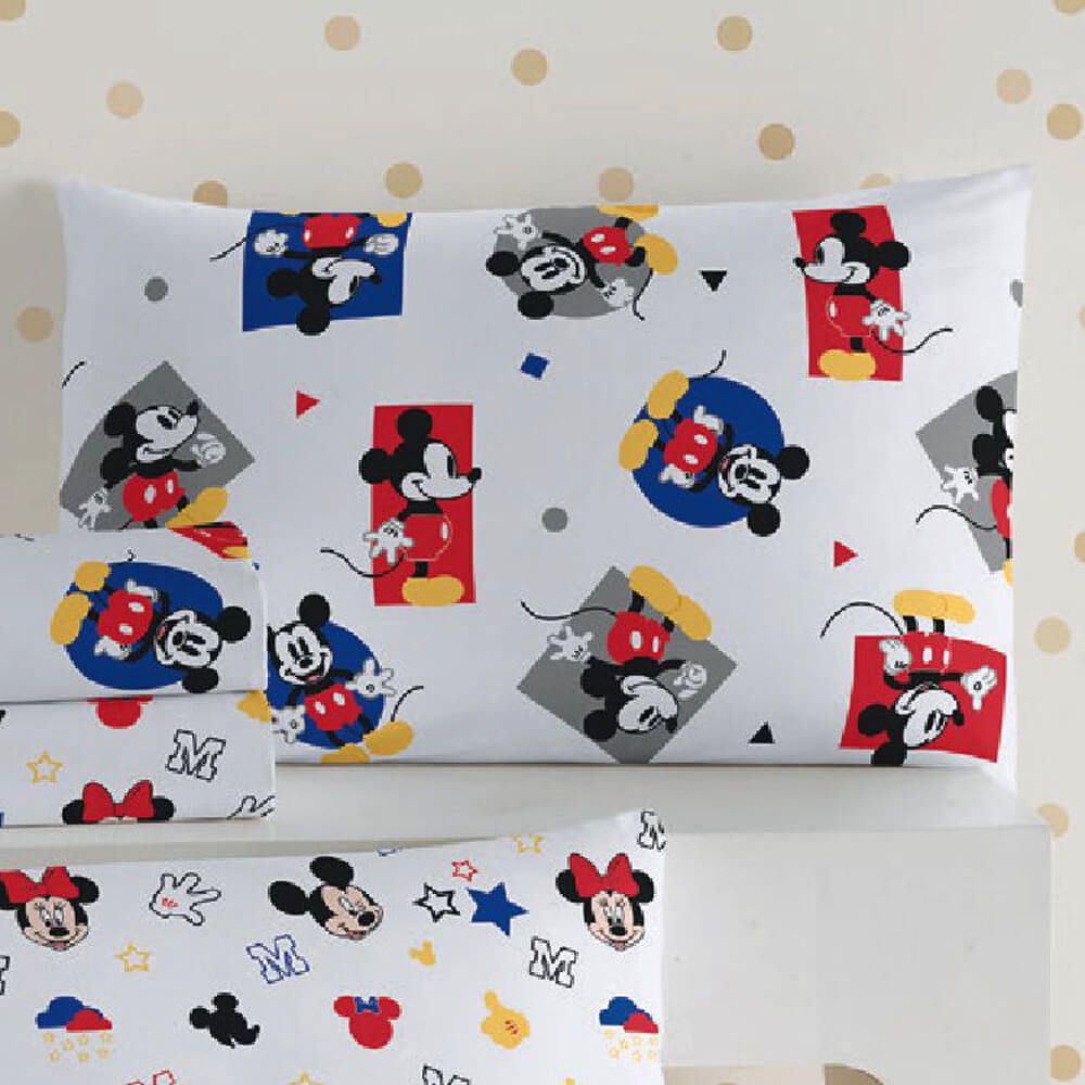 Fronha Infantil Mickey Play