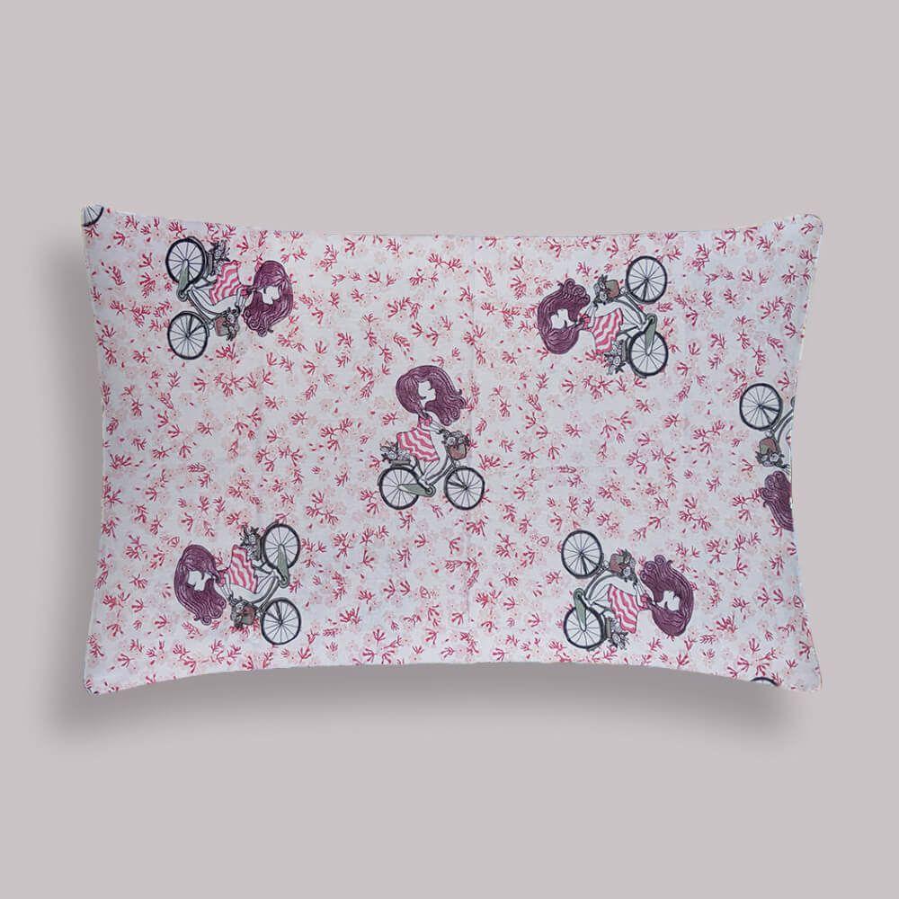 Fronha Infantil Portal Play Bicicleta