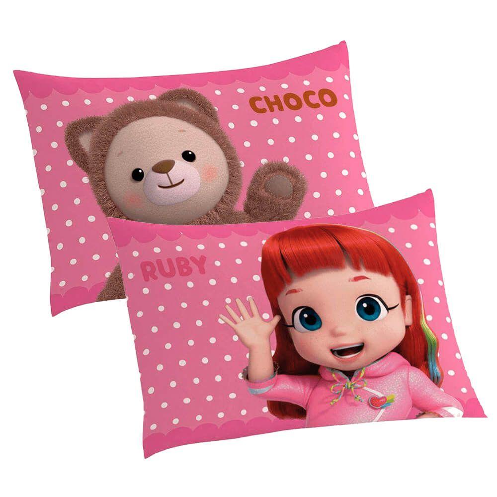 Fronha Infantil Rainbow Ruby