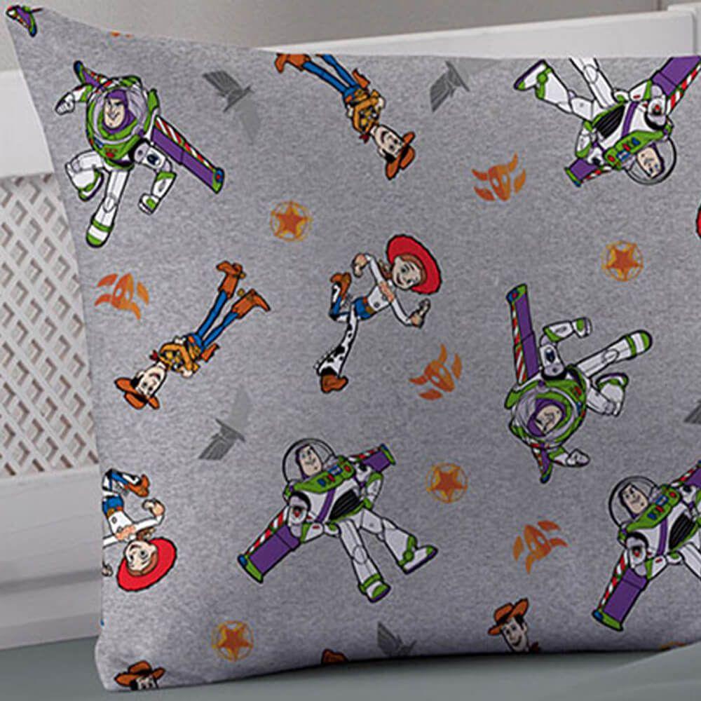 Fronha Infantil Toy Story Cinza