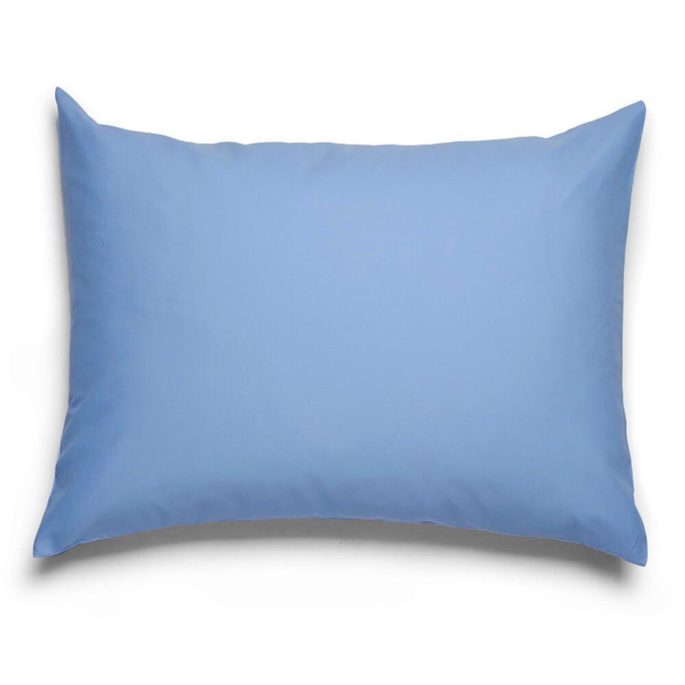 Fronha Lisa Avulsa Royal 100% Algodão Azul