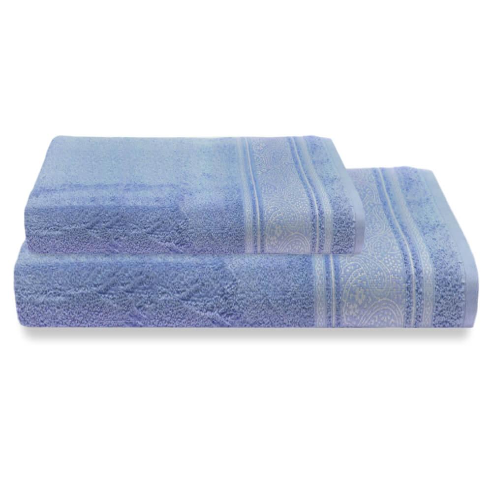 Jogo de Banho 2 Peças Platinum Pérsia Azul