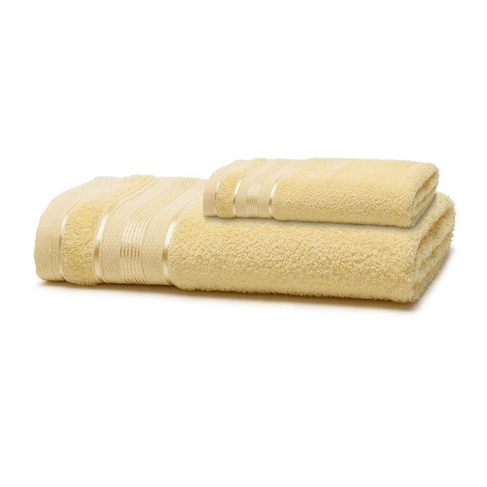 Jogo de Banho 2 Peças Royal Knut Amarelo