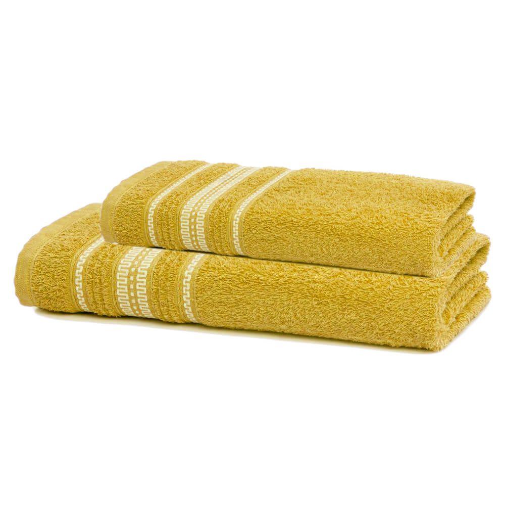 Jogo de Banho 2 Peças Royal Polly Amarelo
