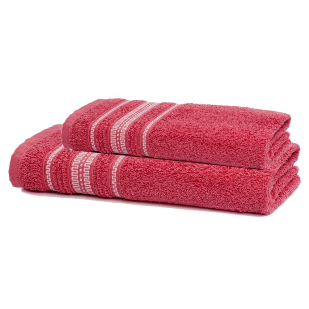 Jogo de Banho 2 Peças Royal Polly Coral