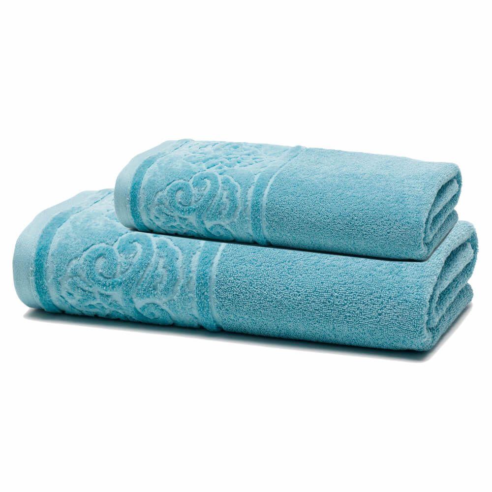 Jogo de Banho 2 Peças Unique Kami Azul