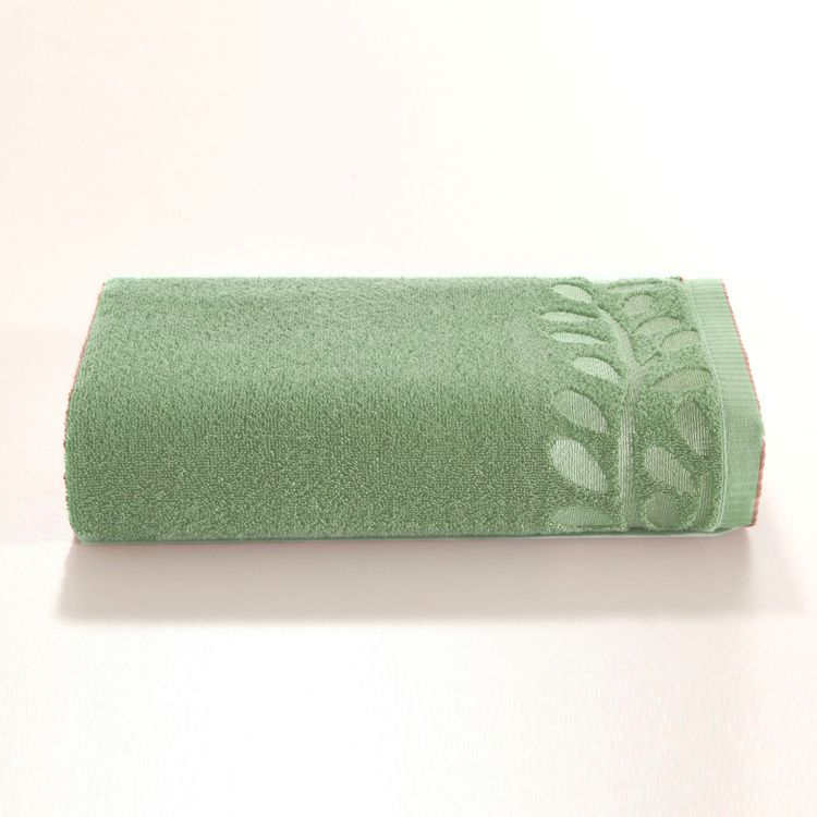 Jogo de Banho Artex Gramado Fio Penteado Verde