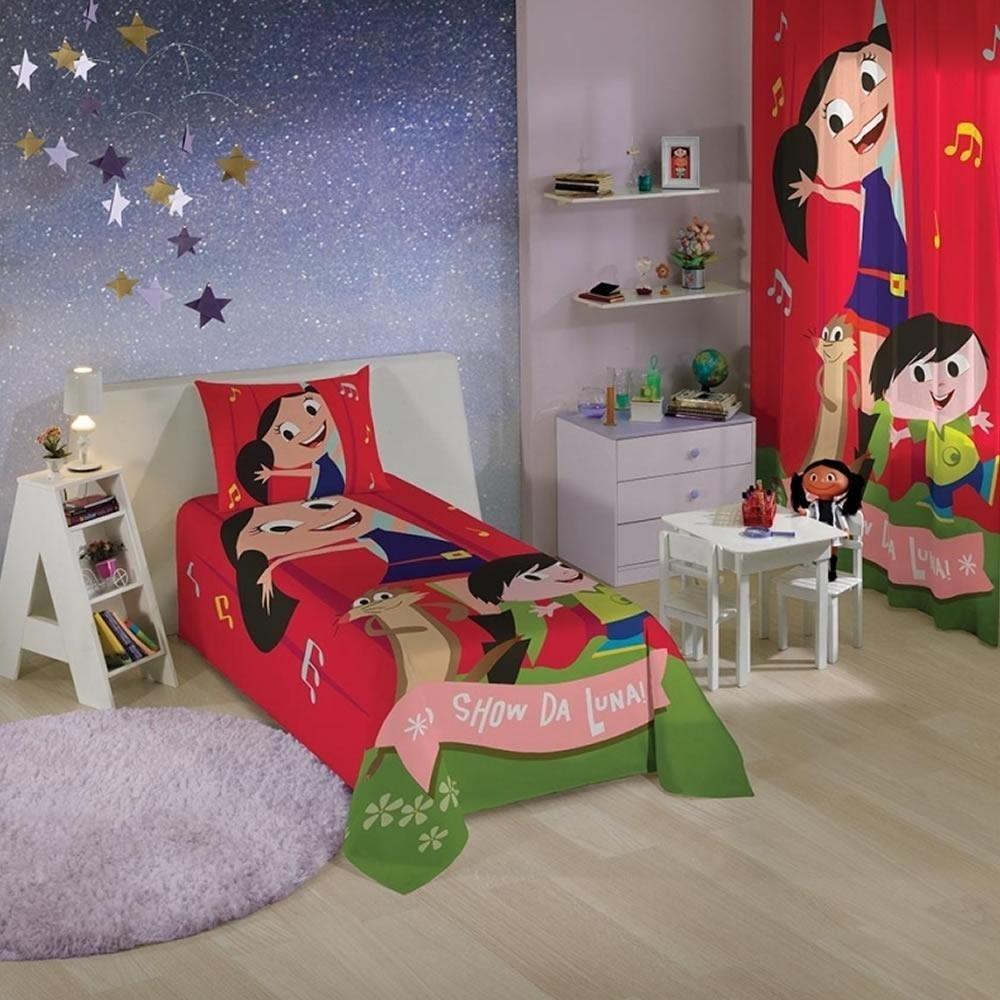 Jogo de Cama Infantil Show da Luna Lepper Kids