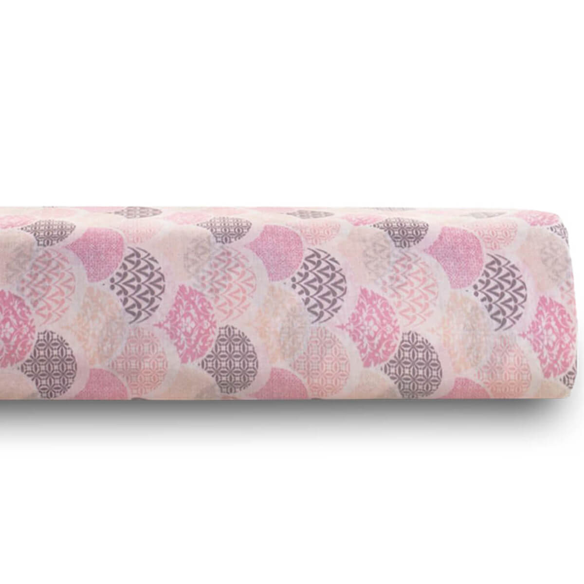 Lençol Casal Avulso Estampado Royal 100% Algodão Deco Rosa