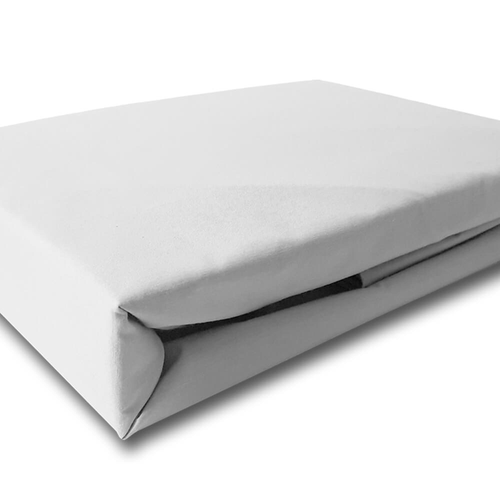 Lençol Casal Percal 200 Fios Top Confort Branco