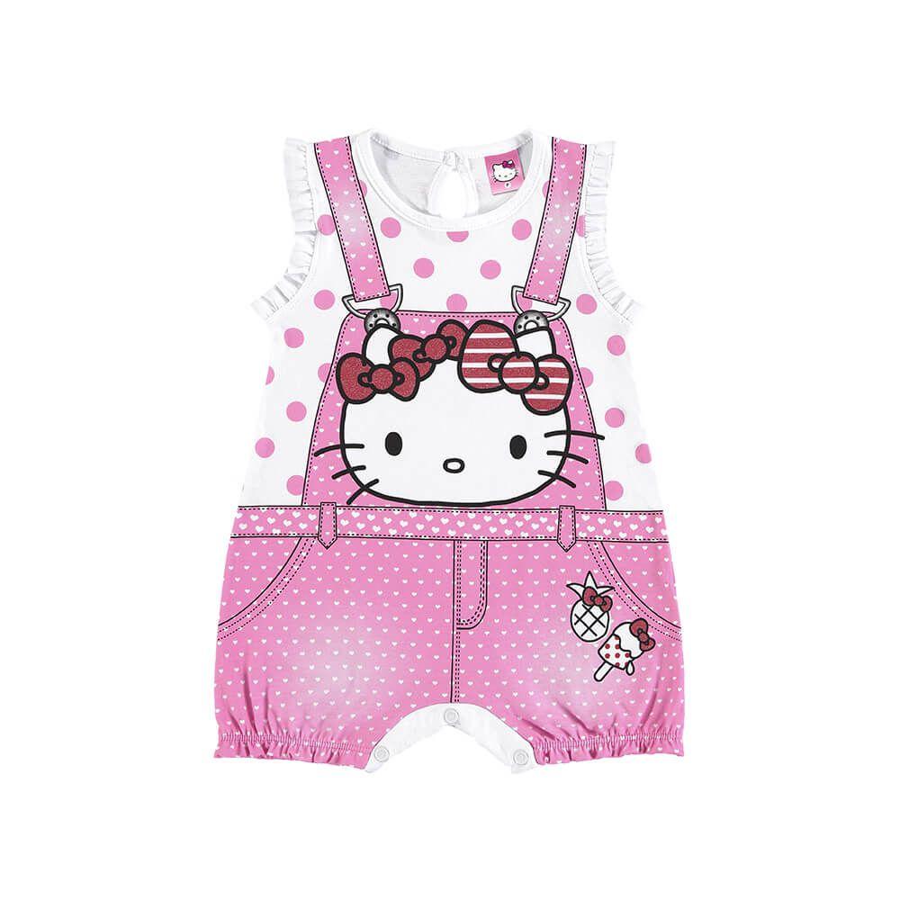 Macacão Bebê Hello Kitty