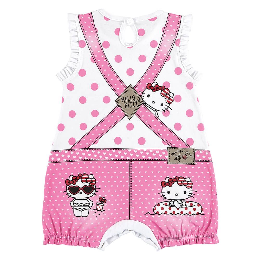 Macacão Bebê Menina Hello Kitty