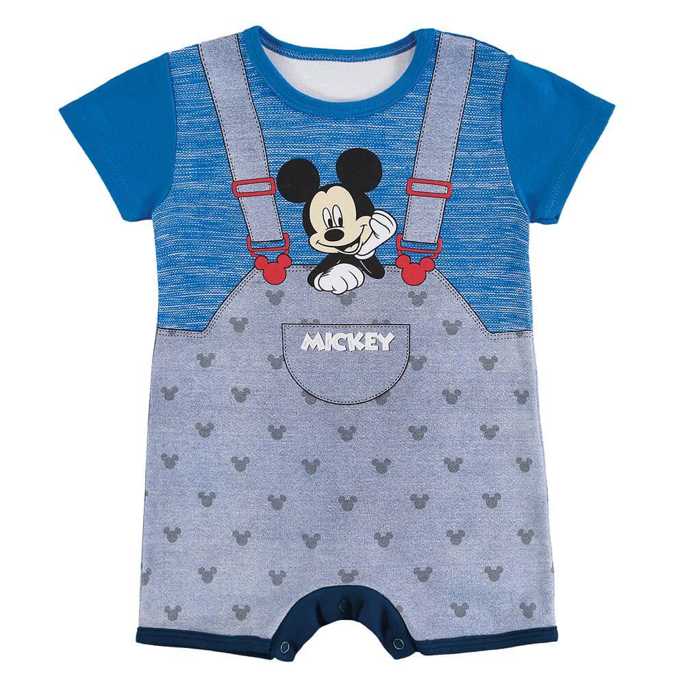 Macacão Bebê Menino Mickey