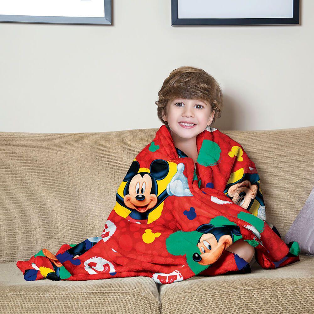 Manta de Sofá Infantil Mickey
