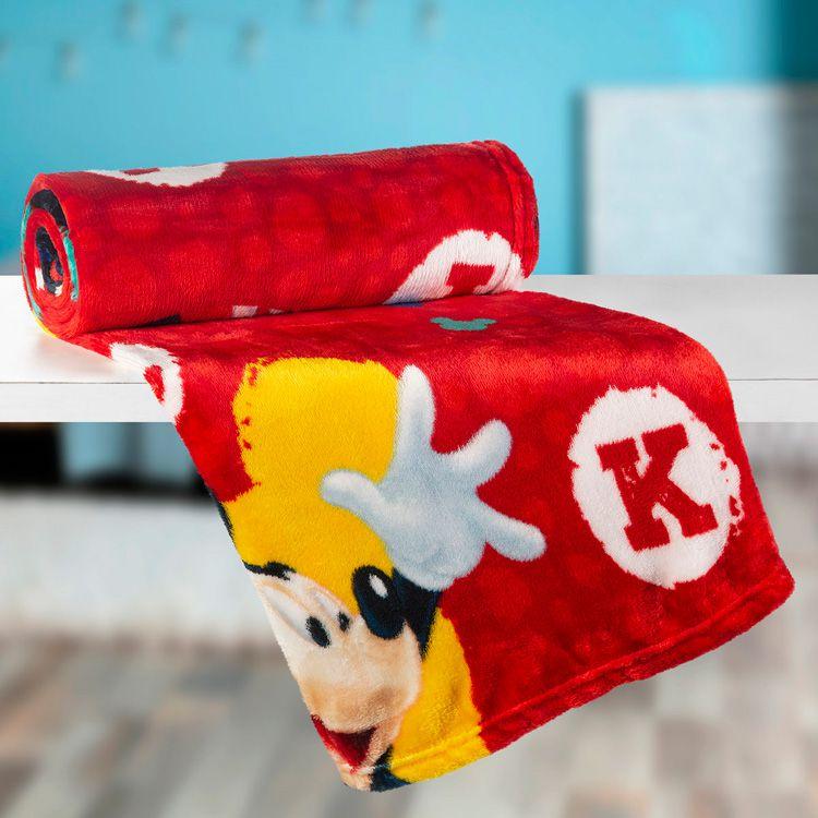 Manta Infantil de Sofá Mickey