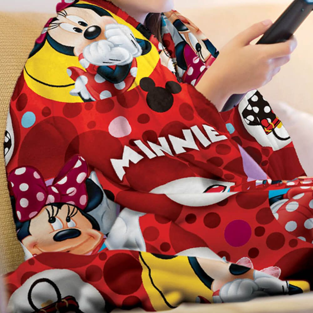 Manta Infantil de Sofá Minnie