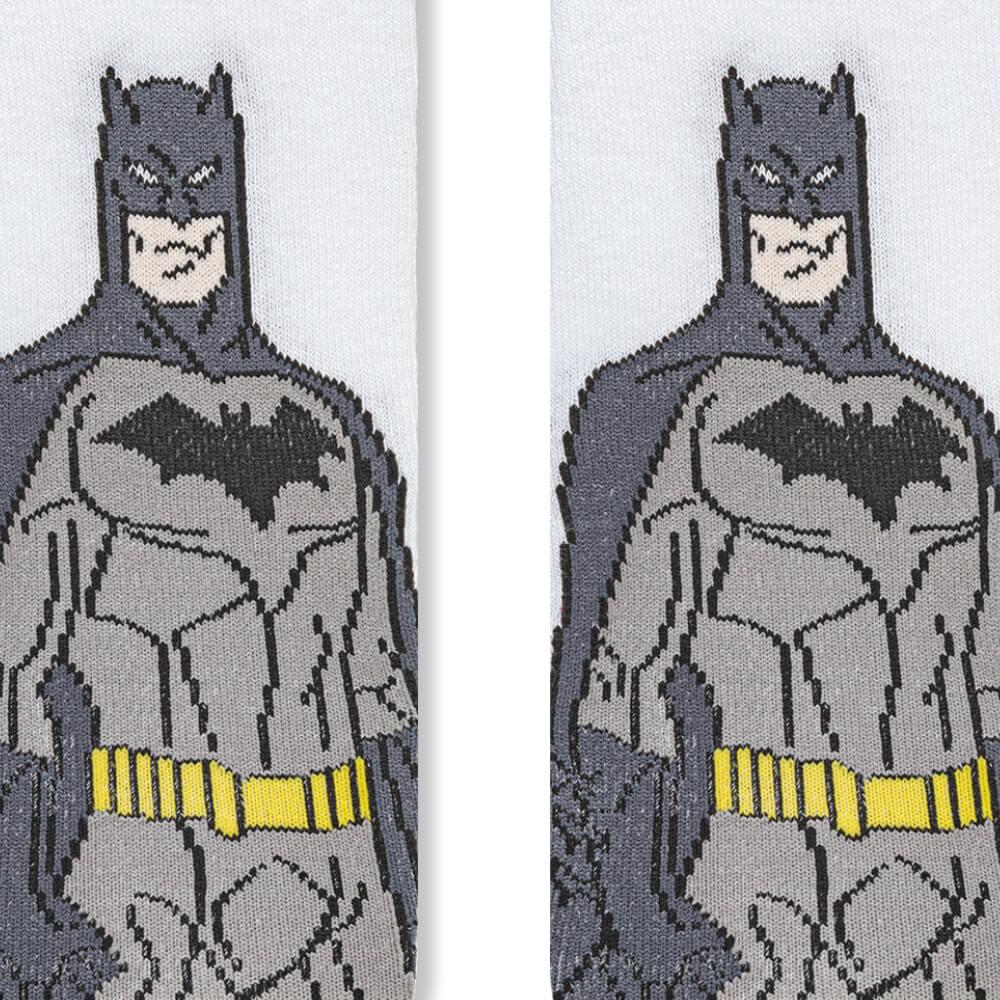 Meia Infantil Menino Batman Homem Morcego