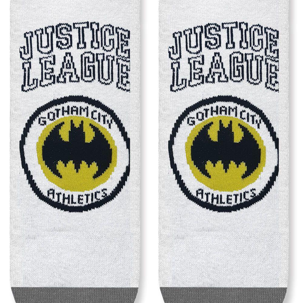 Meia Infantil Menino 29 ao 34 Liga da Justiça Batman Gotham