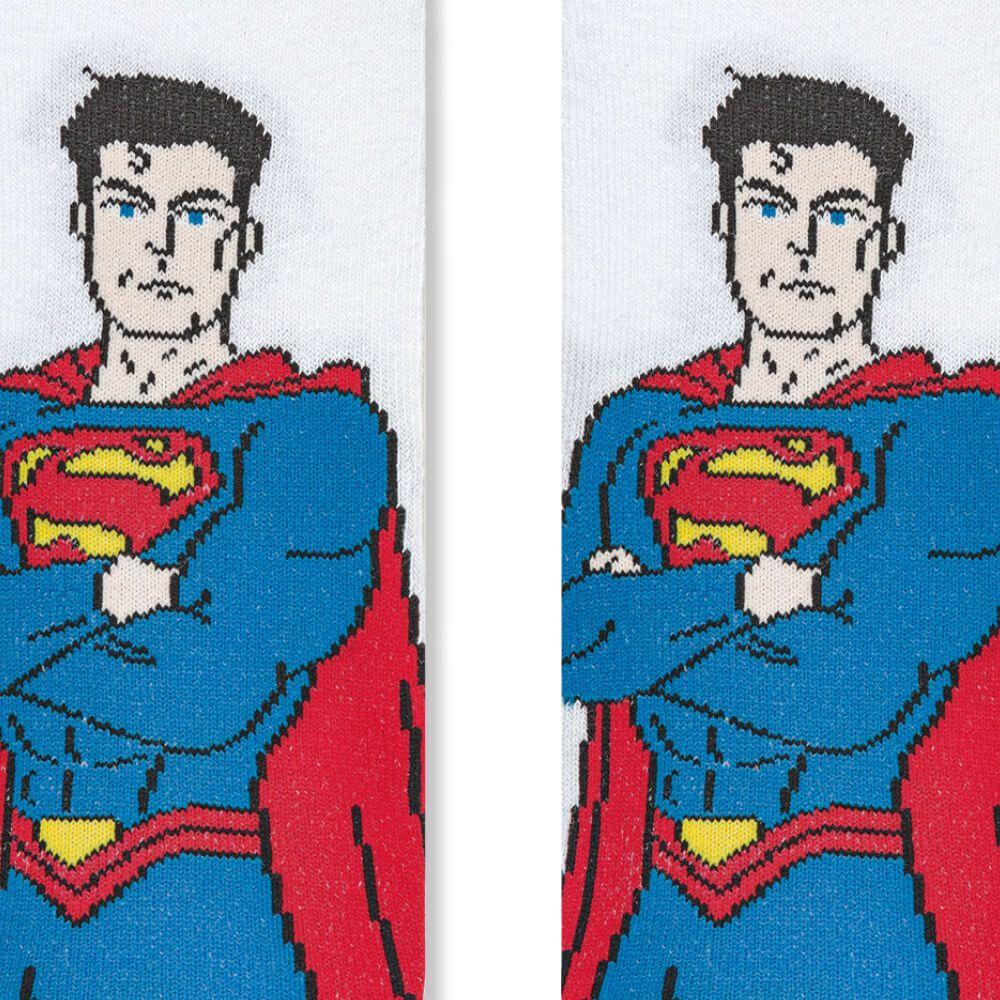 Meia Infantil Menino Super Homem