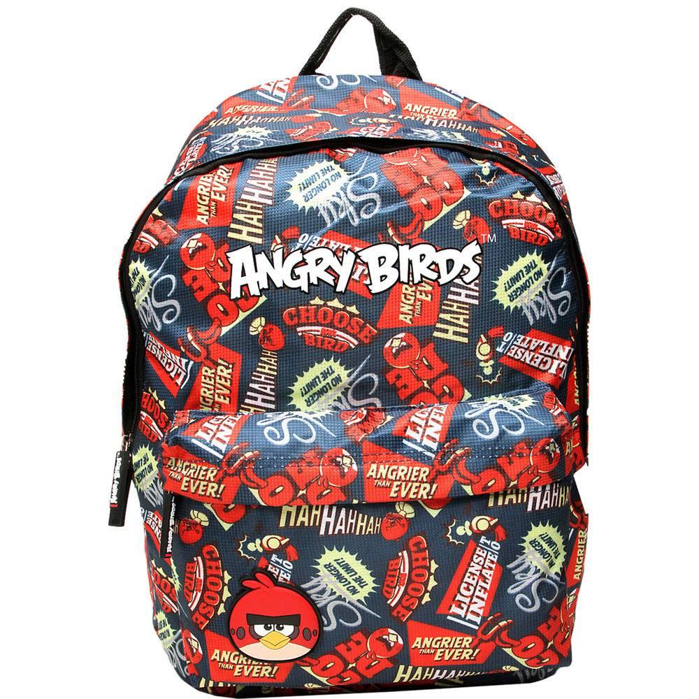 Mochila Infantil Escolar Menino Angry Birds Angrier Than Ever