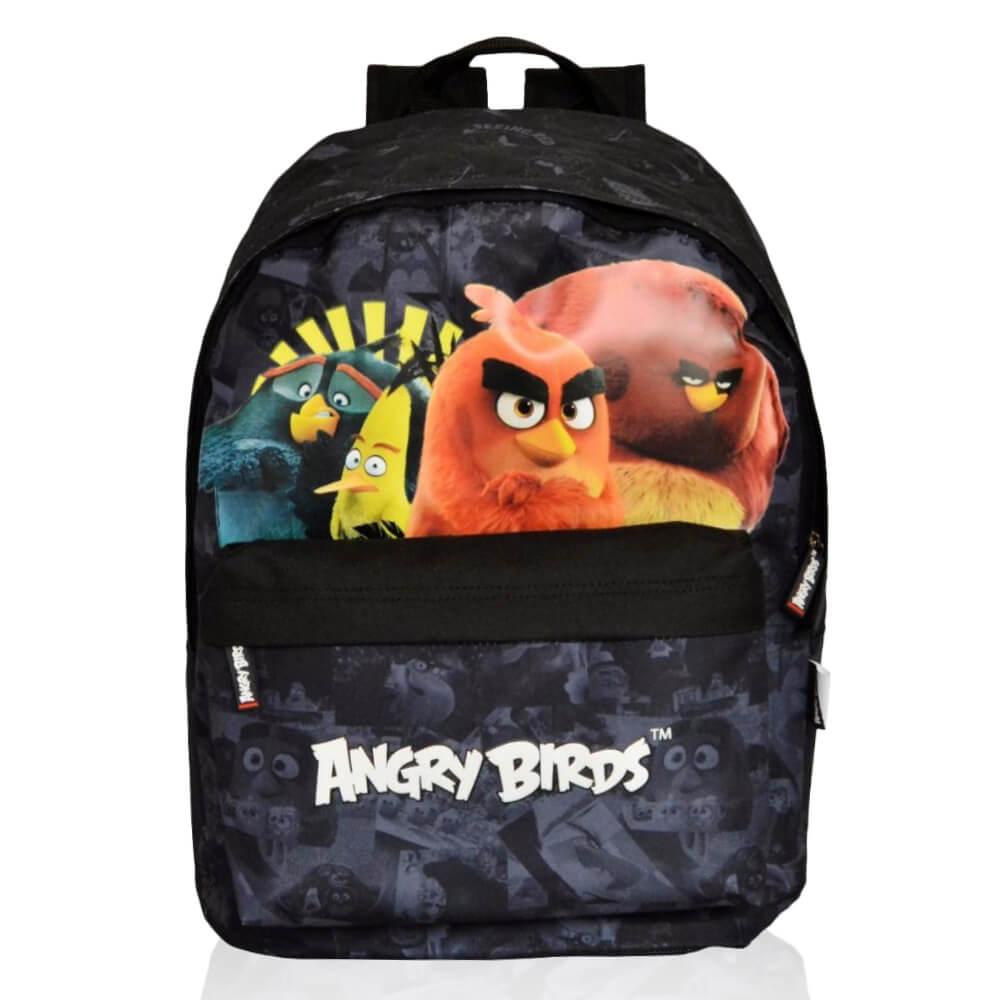 Mochila Infantil Escolar Menino Angry Birds Gang