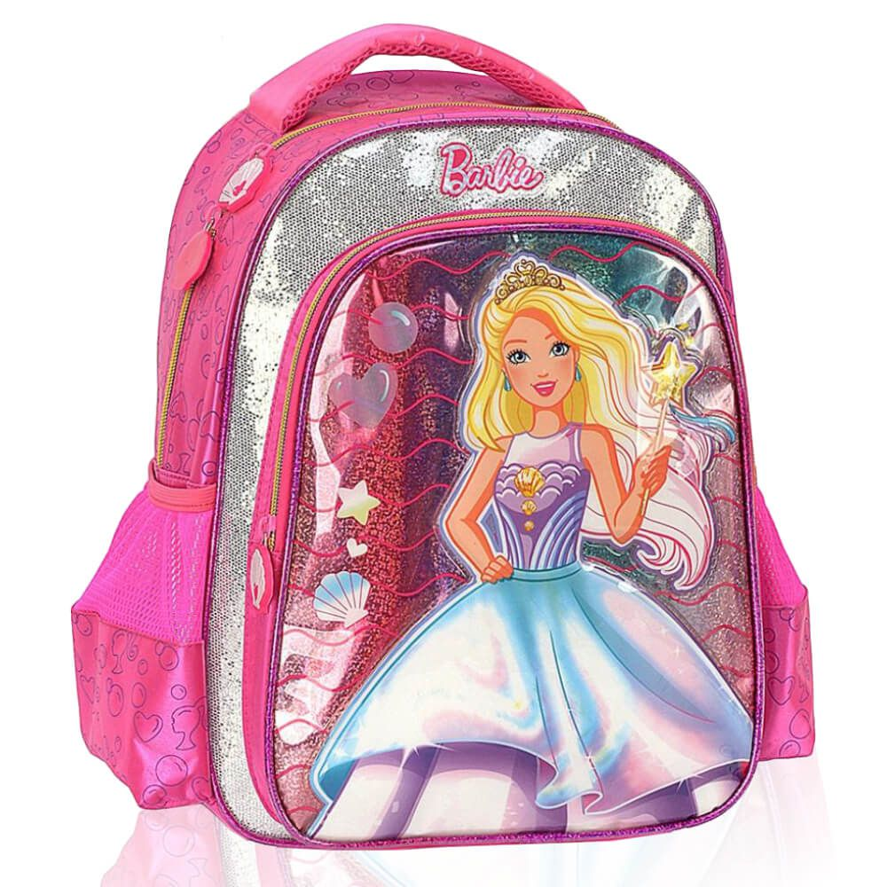 Mochila Infantil Escolar Menina Barbie Princesa