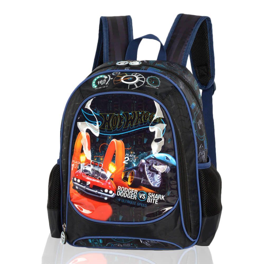 Mochila Infantil Escolar Menino Hot Wheels Dodge