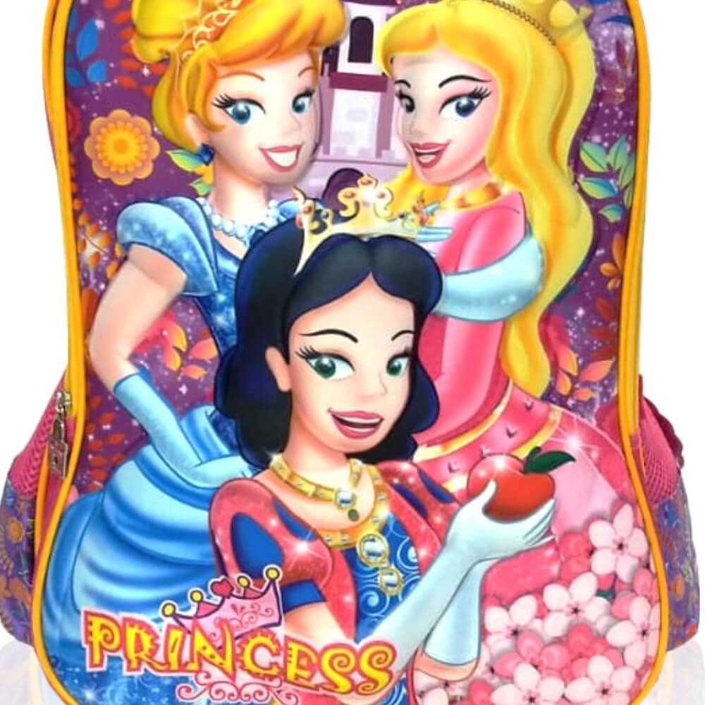 Mochila Infantil Princess Lilás