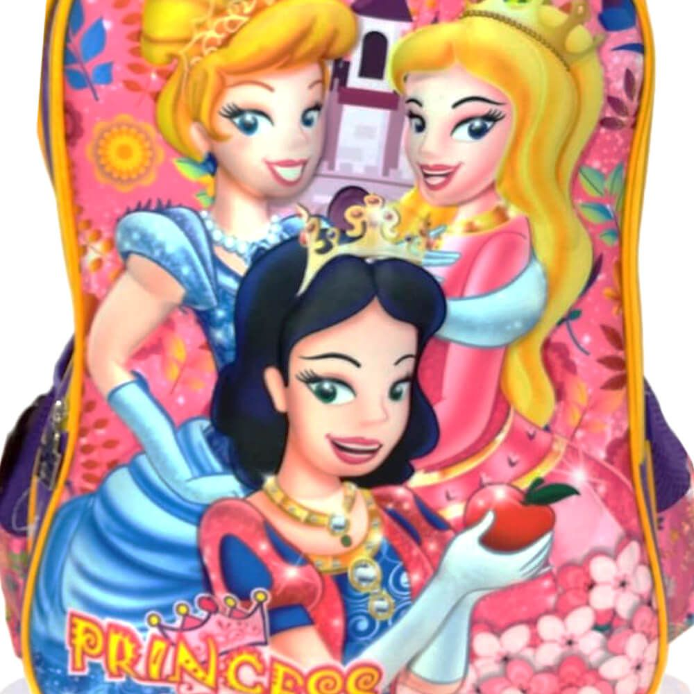 Mochila Infantil Princess Rosa