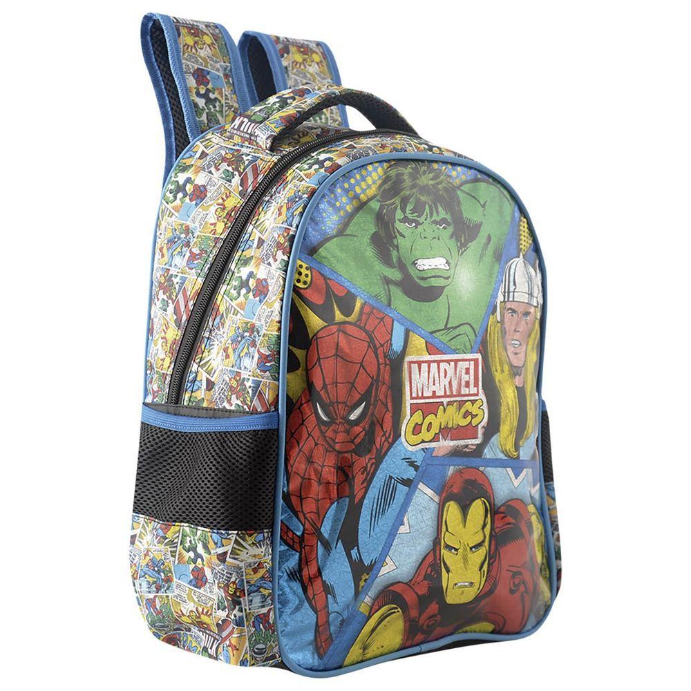 Mochila Infantil Vingadores Marvel Comic Panels