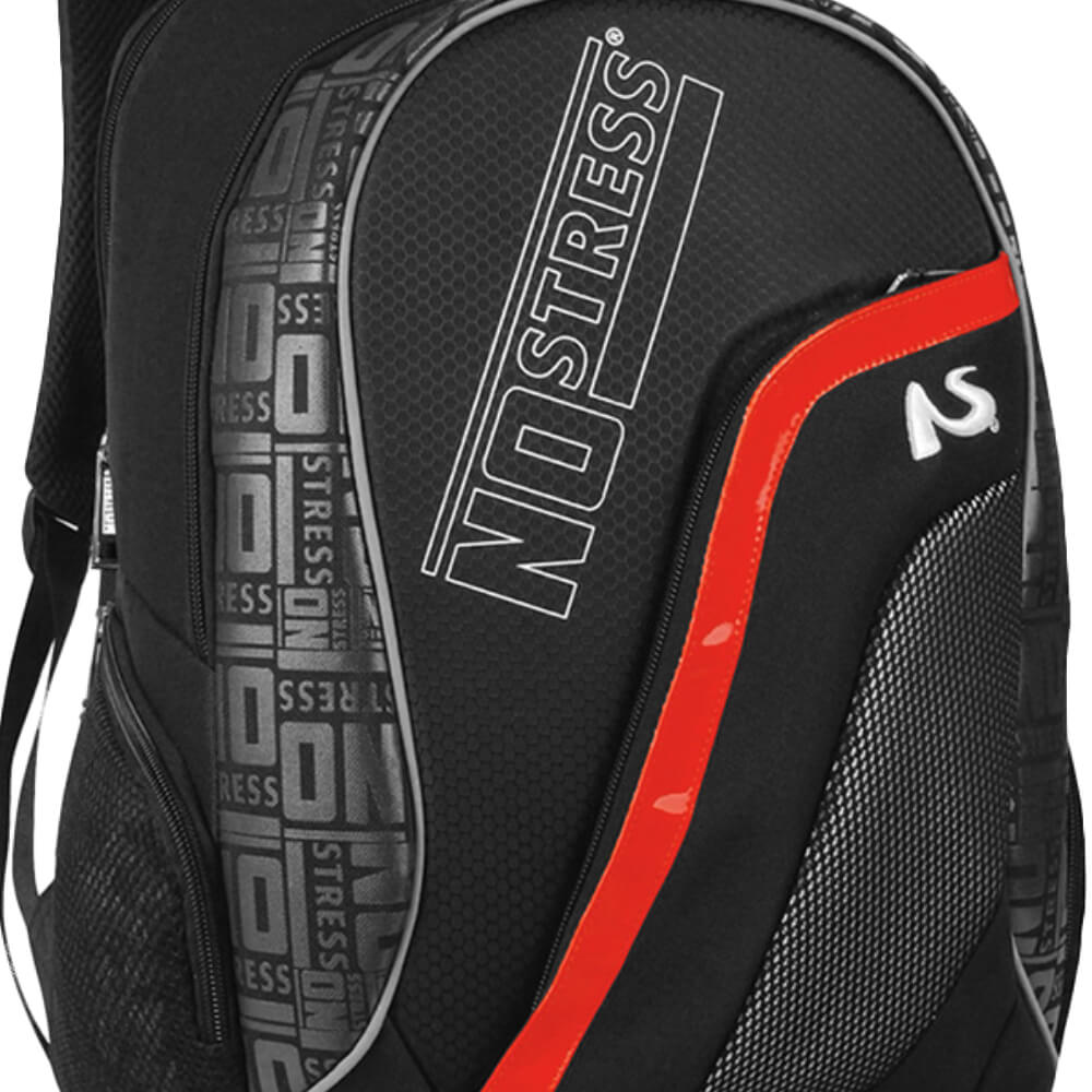 Mochila Masculina Casual No Stress Red