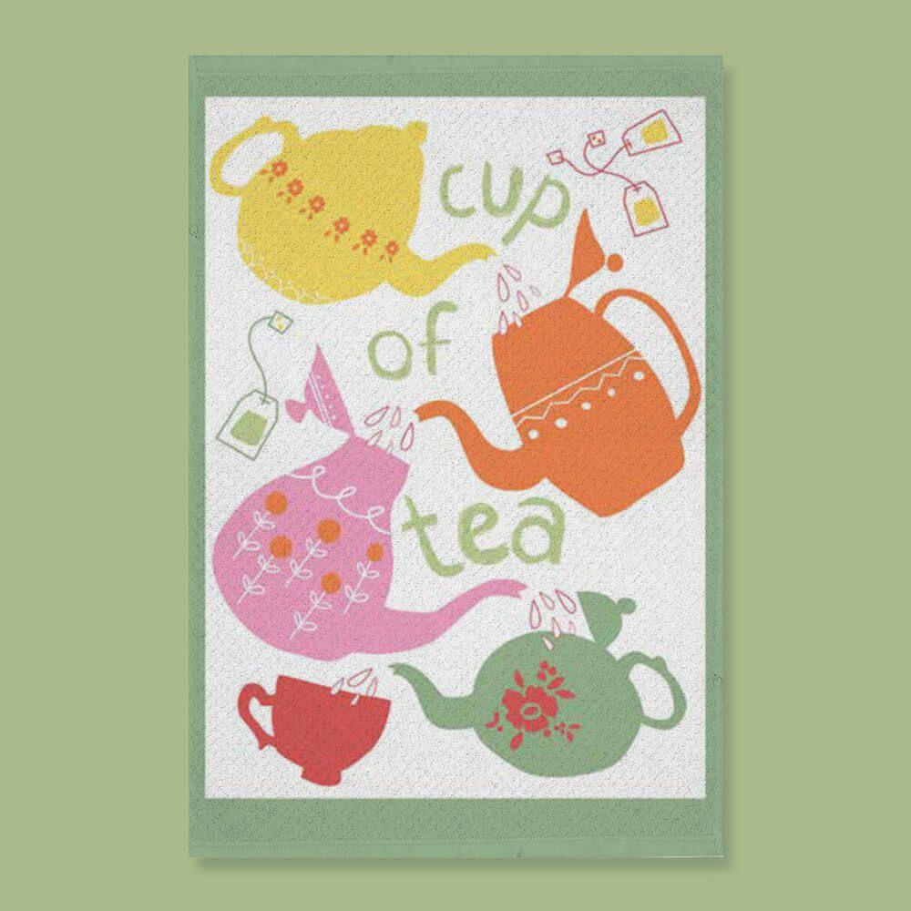 Pano de Prato Advance Cup of Tea