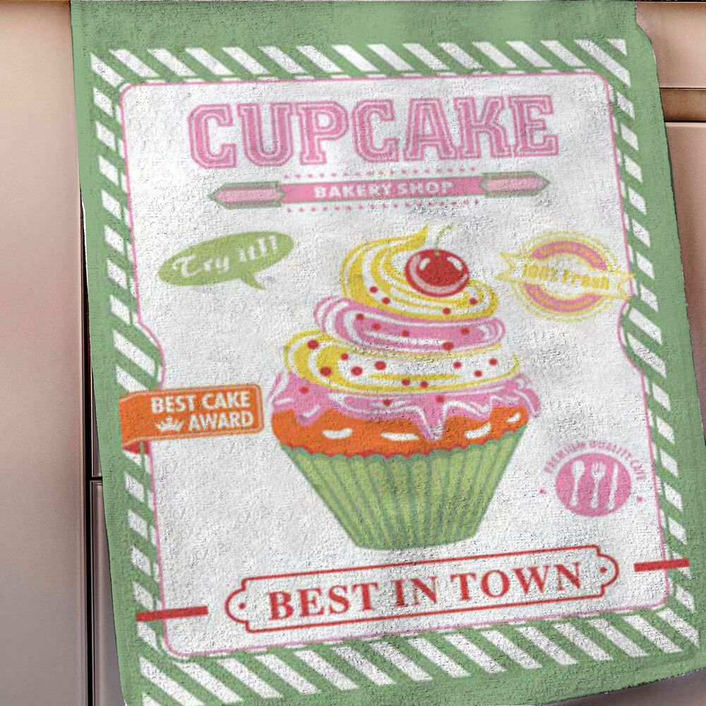 Pano de Prato Advance Cupcake