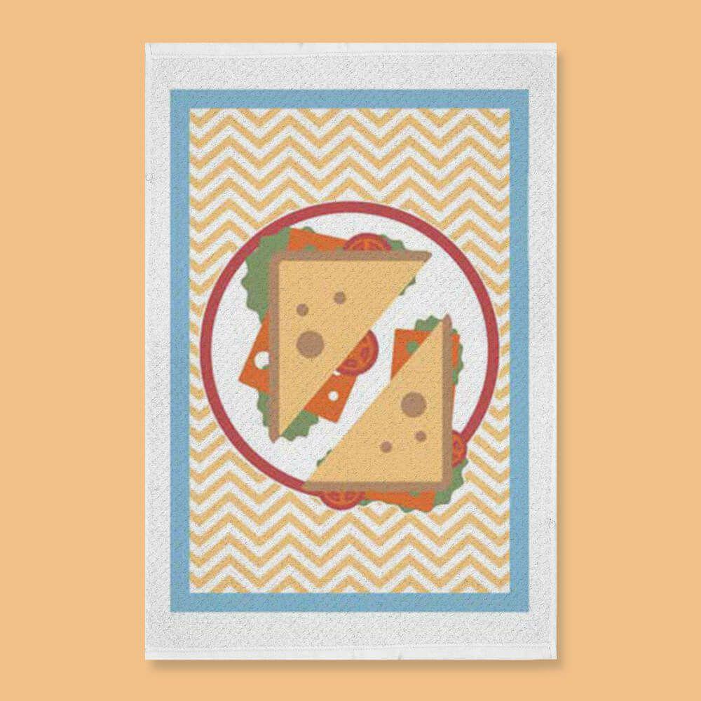Pano de Prato Bom Pano Sanduíche
