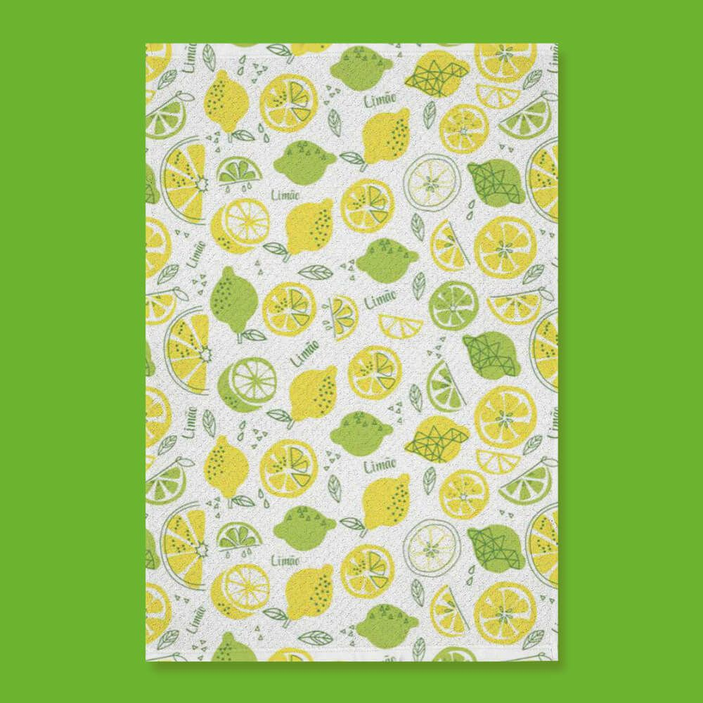 Pano de Prato do Chef Limão