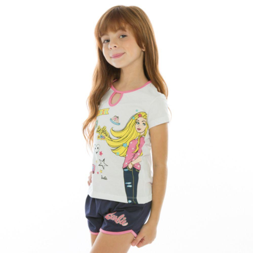 Pijama Infantil Menina Barbie