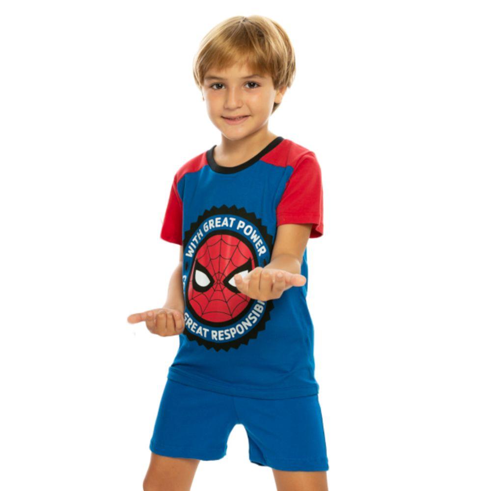 Pijama Infantil Homem Aranha Great Power