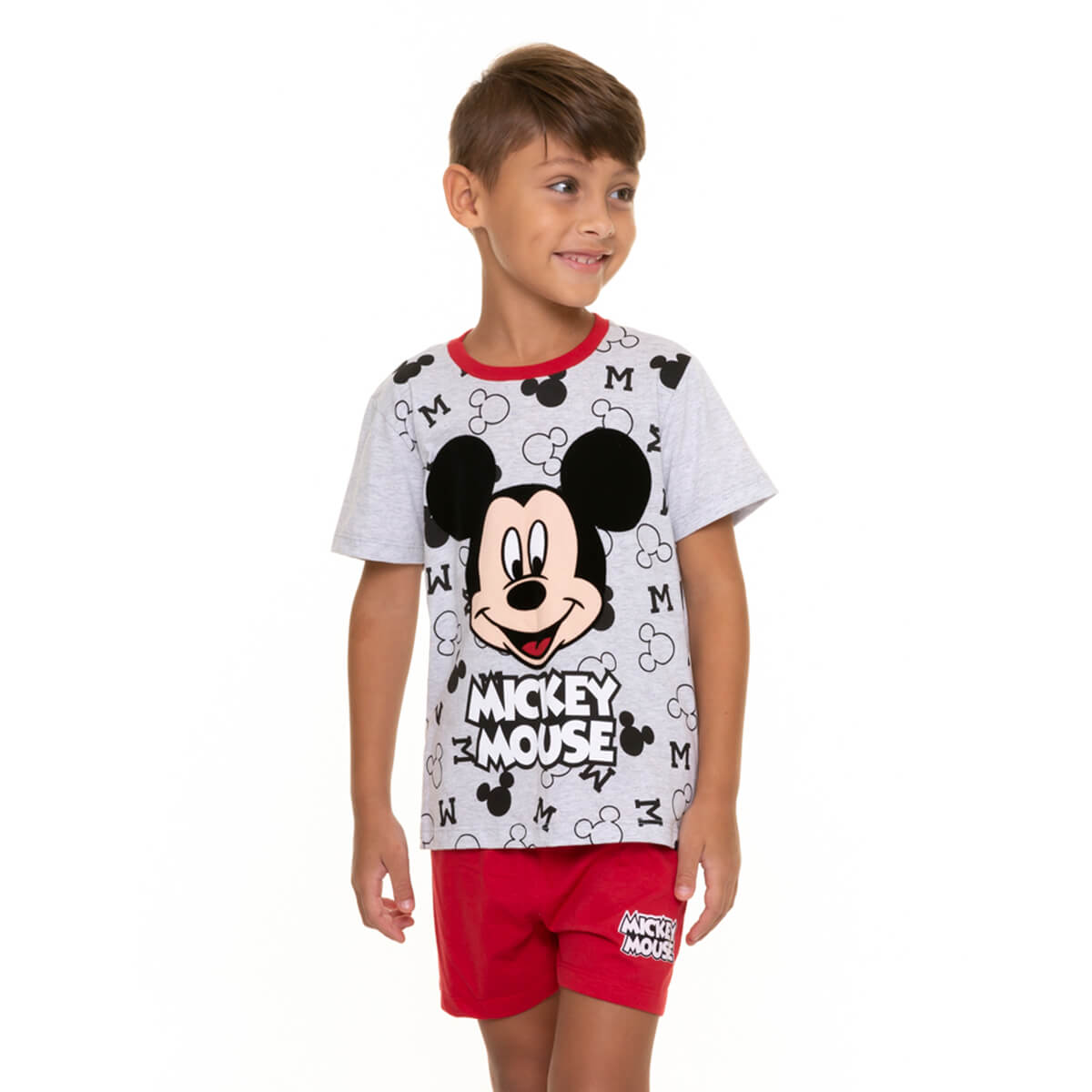 Pijama Infantil Menino Mickey Mouse