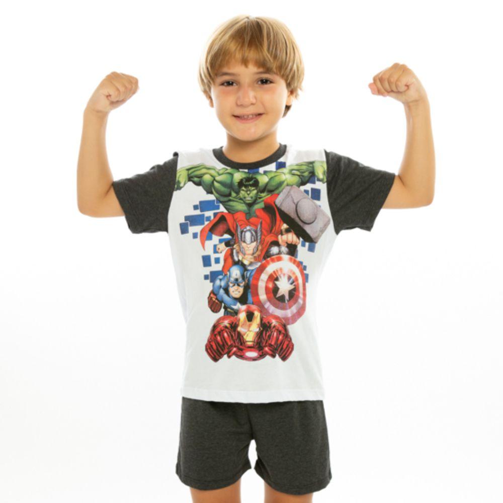 Pijama Infantil Vingadores