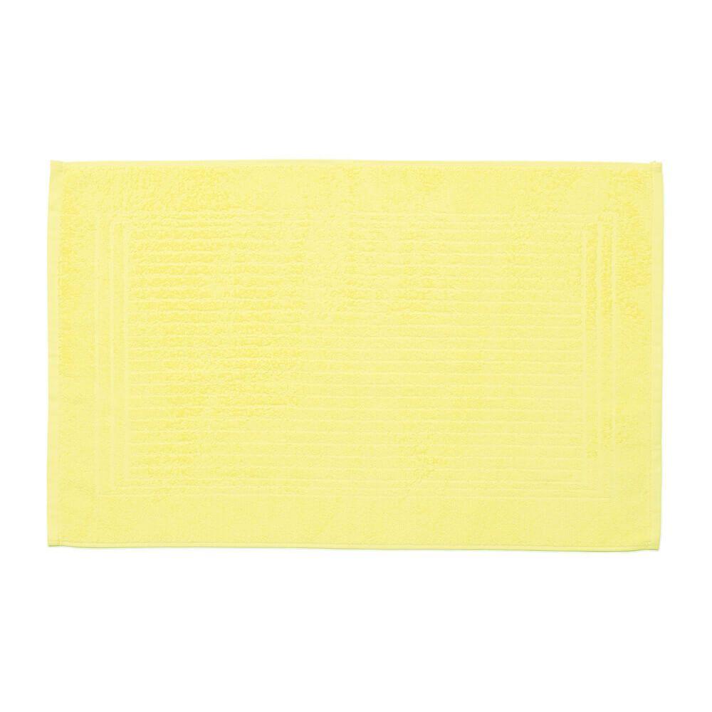 Piso de Banheiro Felpudo Cedro Amarelo Claro