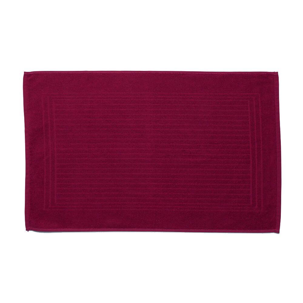 Toalha de Piso Felpuda Cedro Púrpura