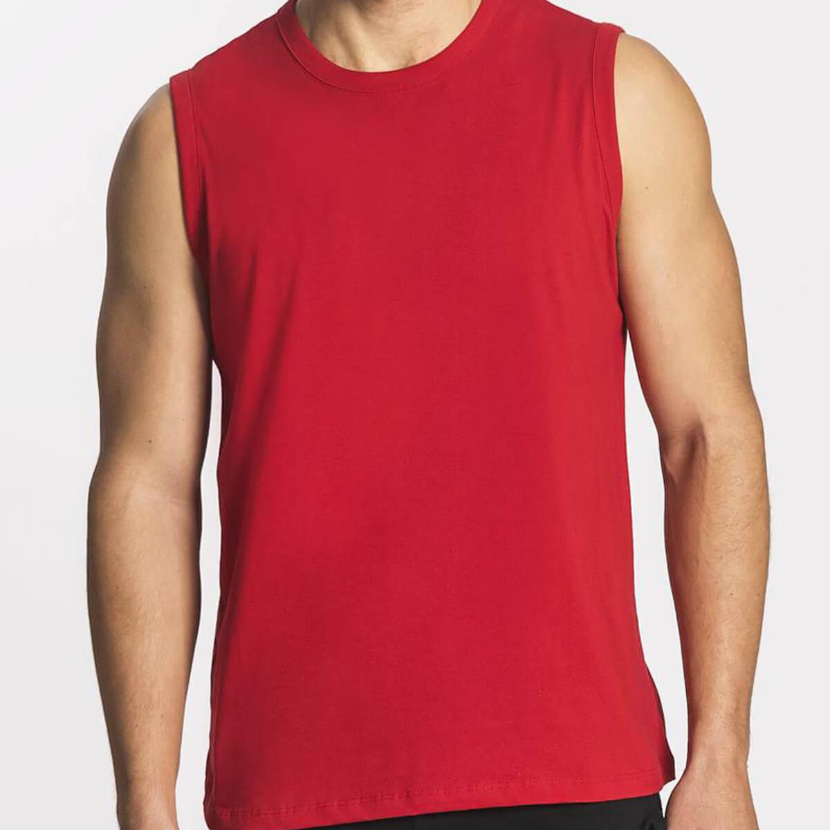Regata Machão Masculina Básica Premium Vermelha