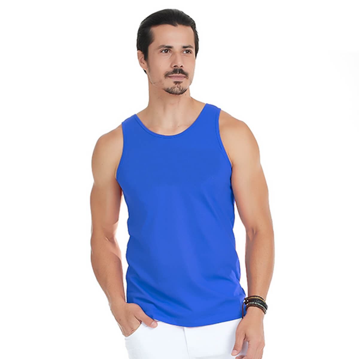 Regata Masculina Básica Sport Azul