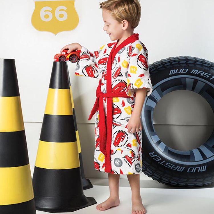 Roupão Infantil Carros