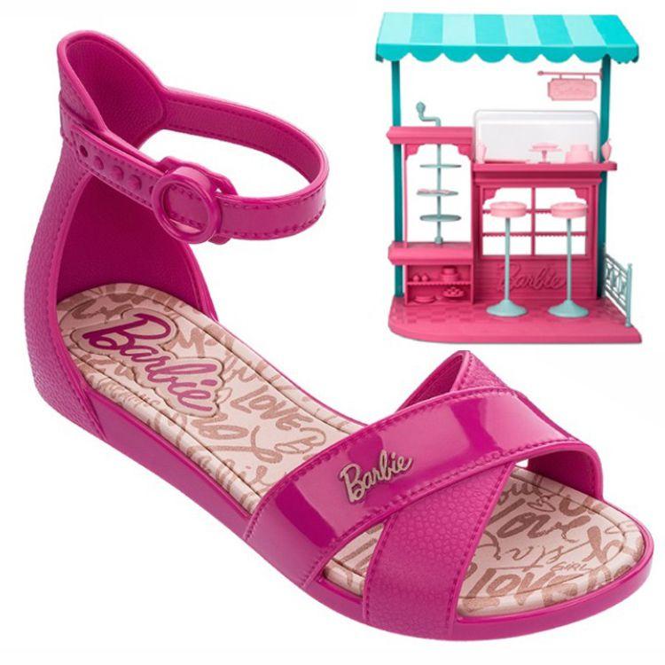 195a09b50 Sandália Barbie Confeitaria Grendene Kids