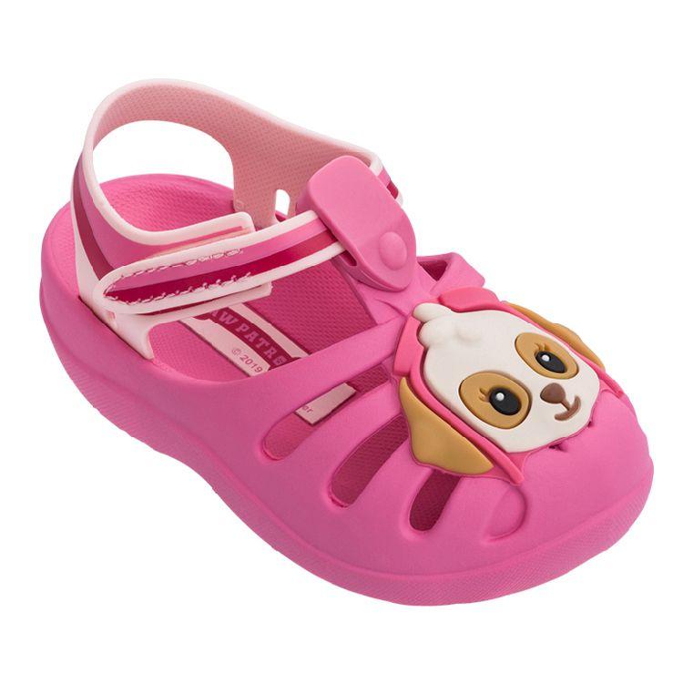 60ba3c17331 infantil menina calcados infantil feminino sandalia patrulha canina ...