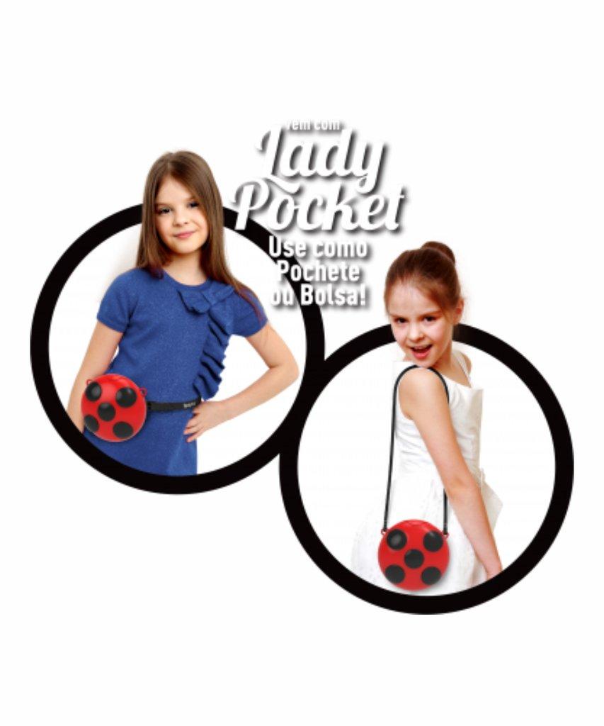 Sandália Infantil Ladybug Lady Pocket