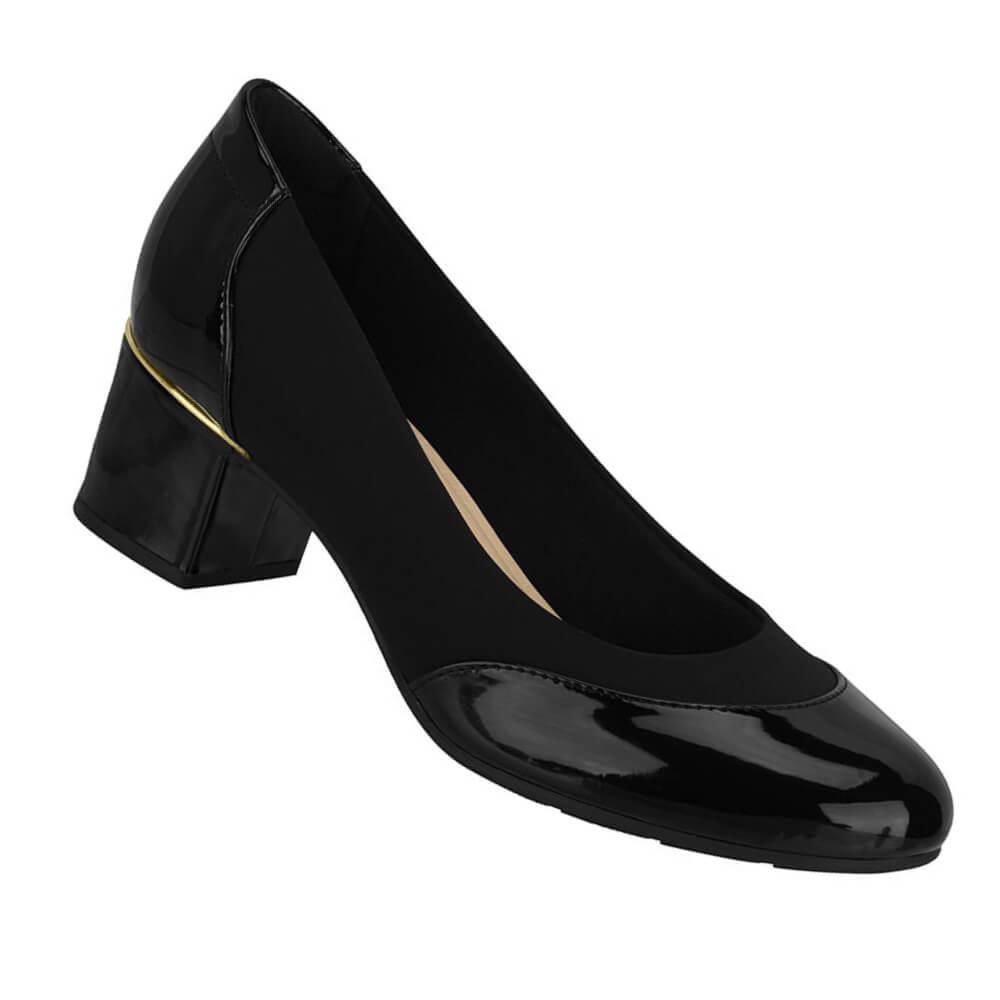 Sapato Feminino Modare Viena Preto