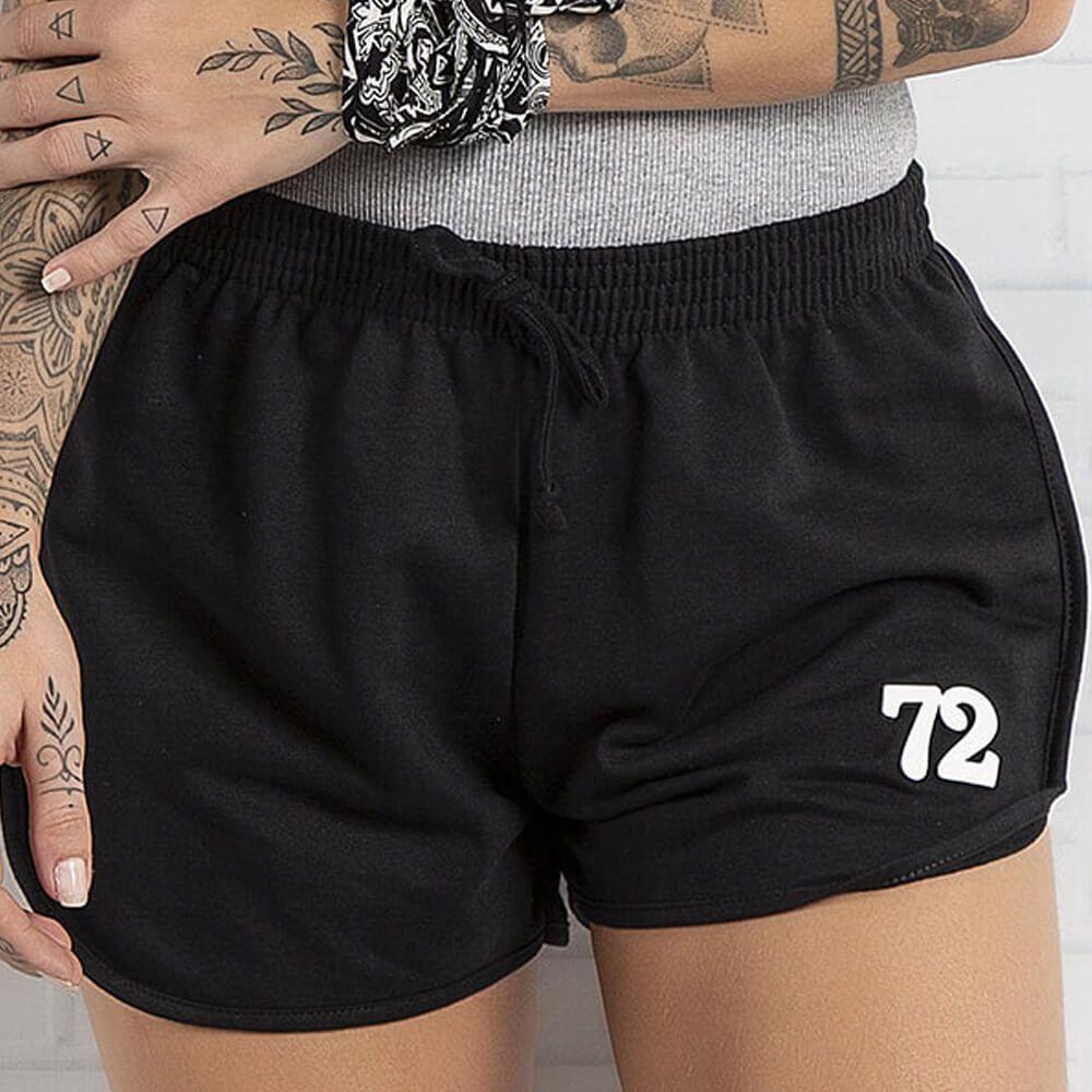Shorts Feminino Moletom 72