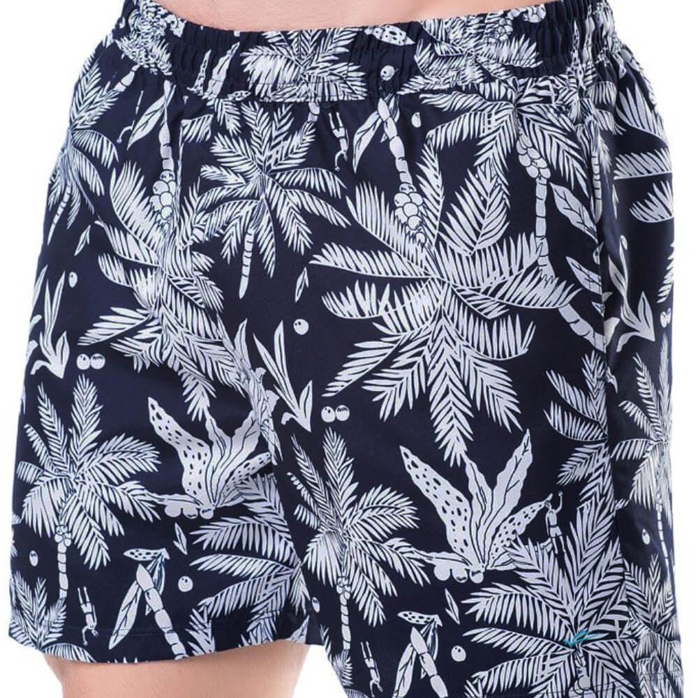 Shorts Masculino Palmeira Marinho